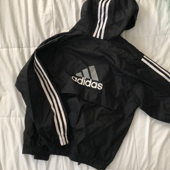 Boys Adidas Rain Jacket Windbreaker